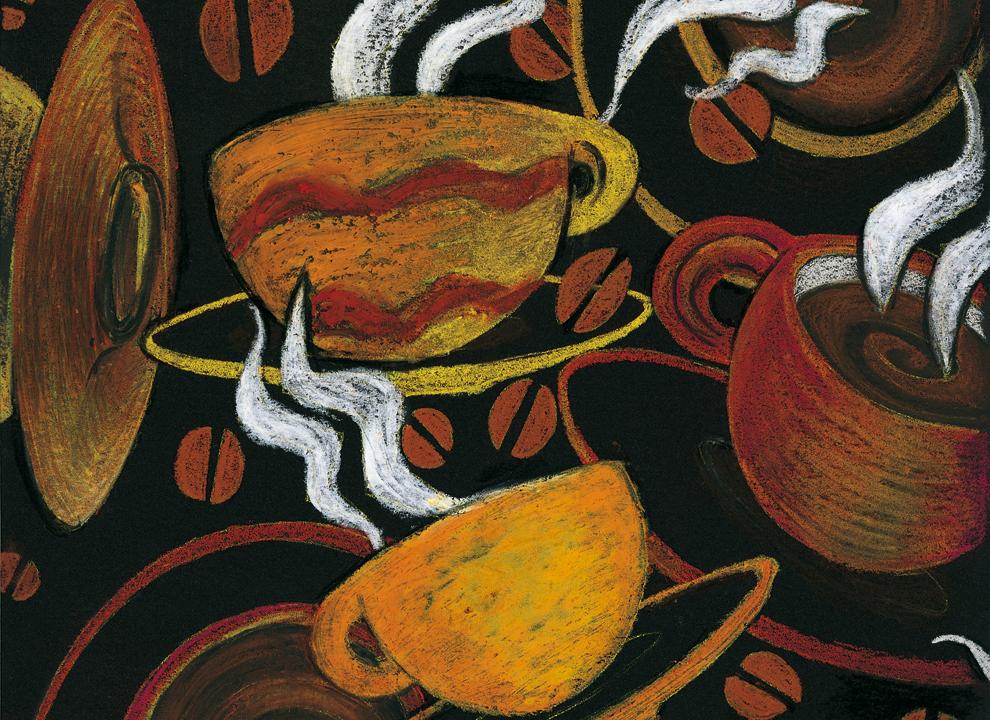 Cliente: Brasiloro Caffè, immagine illustrata istituzionale ideata dall