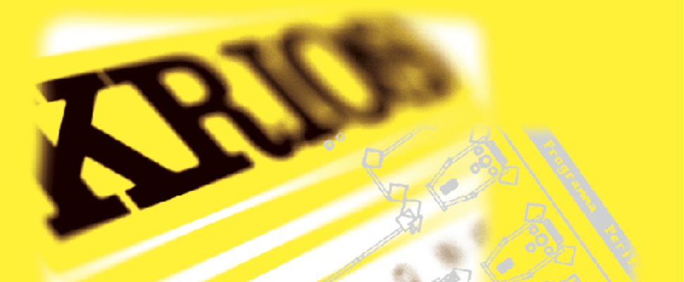 Immagine: marchio Krios. Agenzia di Grafica pubblicitaria, comunicazione emarketing a Treviso.