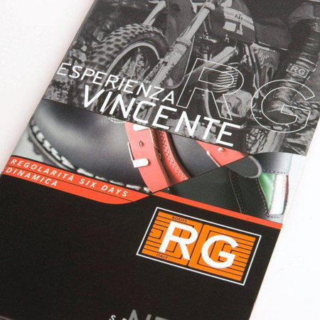 Immagine opuscolo RG. Graphic Design by Holbein & Partners SRL Italy