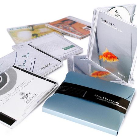 immagine packaging cd musicali. L'agenzia di grafica pubblicitaria di Treviso H&P  progetta il design grafico di packaging, scatole, confezioni, e astucci per imballaggi alimentari e di prodotti in genere
