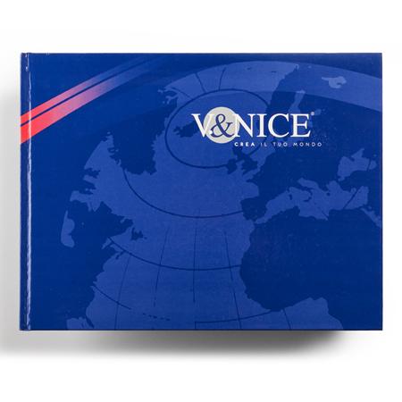 Immagine del V&Nice nuovo catalogo generale prodotti grafica Holbein & P.  Villorba.