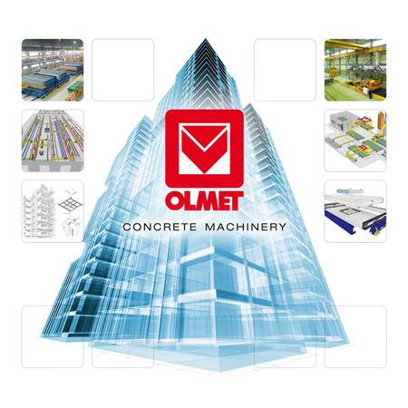 Immagine di progettazione grafica per stand fieristici Olmet