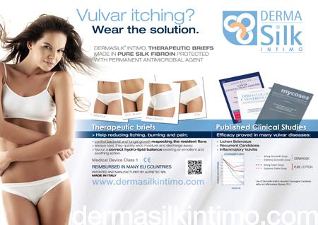 Immagine advertising Derma Silk congresso europeo di ginecologia. Agenzia Pubblicitaria H&P Treviso - Studio grafico, realizzazione cartelli pubblicitari / display