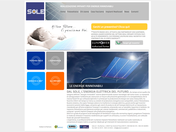 Web Agency di Treviso, specializzata in siti ottimizzati per i motori di ricerca.