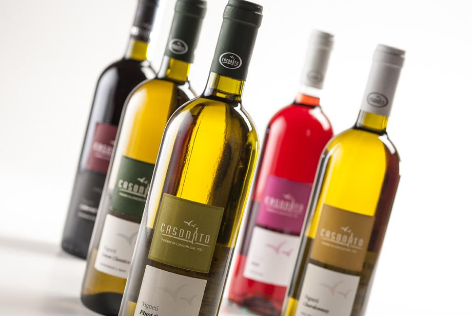 Progettazione etichette vinicole