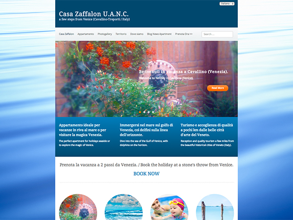 immagine homepage casazaffalon.it web desgin firmato Holbein & Partners di Treviso (Web Agency 2.0)
