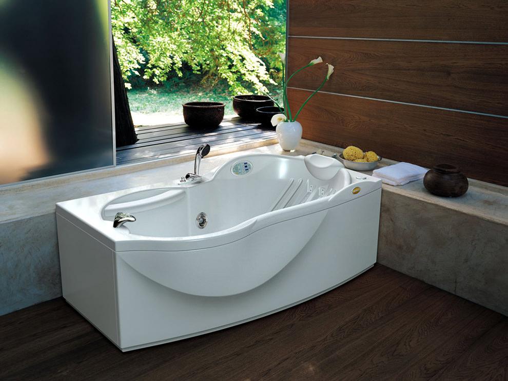 Render di una vasca da bagno