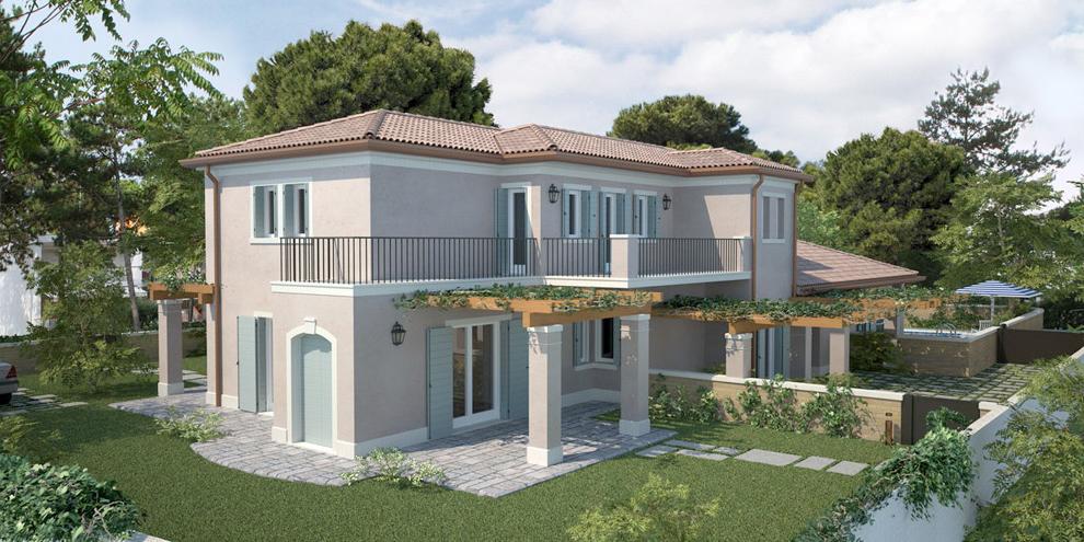 realizzazione rendering per l'edilizia - abitazioni - case