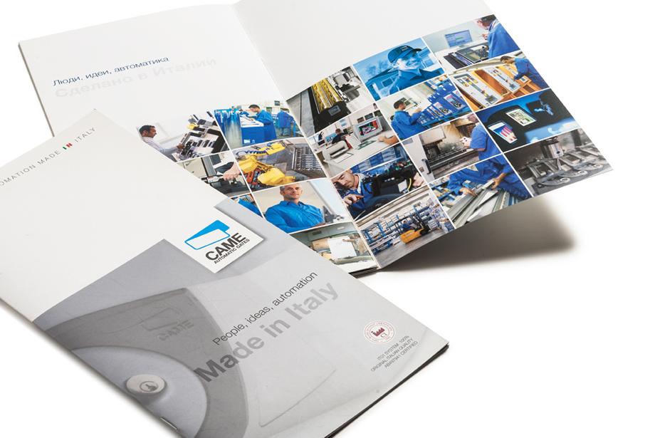 immagine del catalogo Came 100% Made in Italy. Progetto grafico H&P