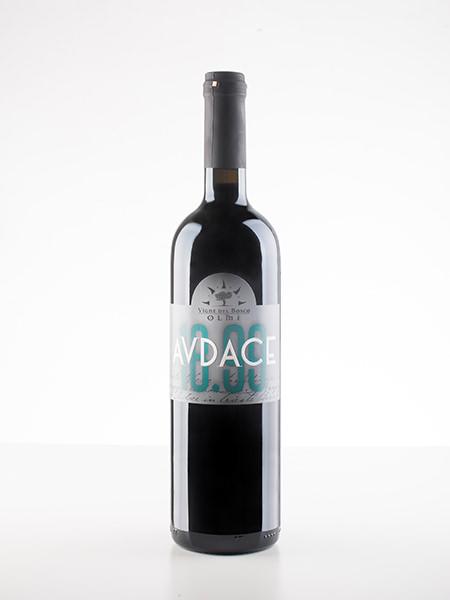 Etichetta Audace di Vigne del Bosco Olmé