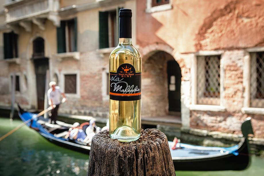 Etichetta Vigne del Bosco Olmé - Malvasia