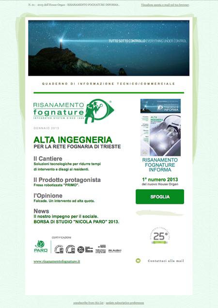 Newsletter marketing, uno strumento semplice ed economico per colpire un'elevato numero di utenza e convertire le visite. Agenzia di web Marketing H&P di Treviso