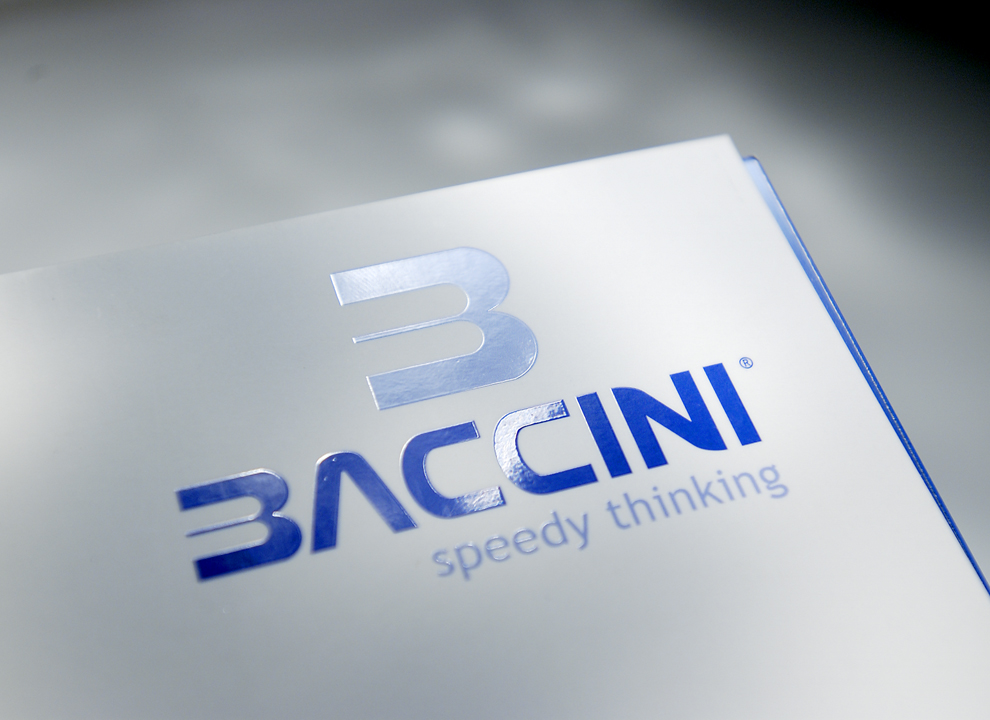 Cliente: Baccini S.P.A., ideazione cataloghi prodotto firmati Holbein & Partners.