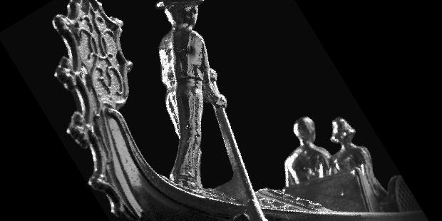 Immagine kitsch gondola venezia