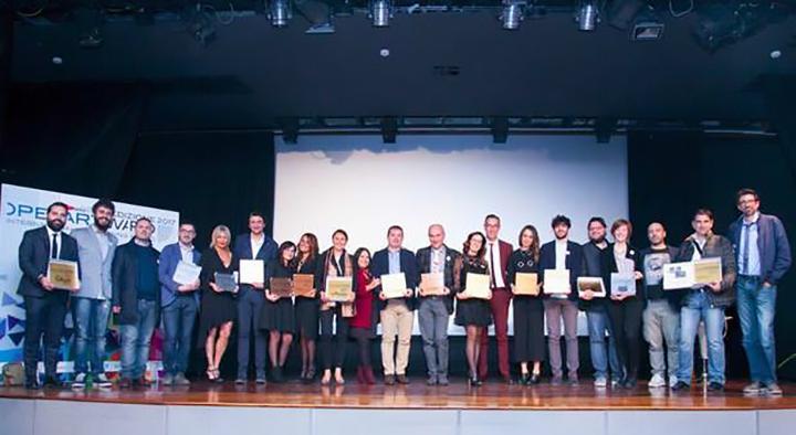 Tutti i premiati OpenArtAwards 2017