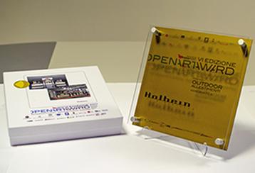 Premio OpenArtAwards Targa d'Oro