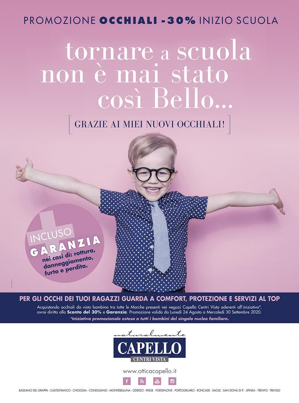Campagna pubblicitaria Holbein & Partners per Ottica Capello