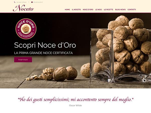 Sito web realizzato dalla Holbein & Partners per Il Noceto