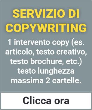 Servizio di Copywriting